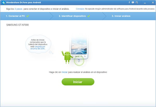 recuperar contactos eliminados desde Gmail/Outlook/Android/iPhone