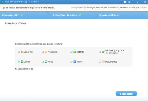 recuperar datos e informacion en un Sony Xperia