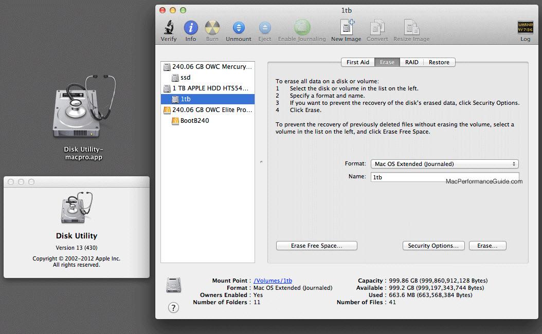 backup mac en disk utility