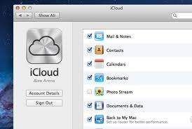 iclound backup mac