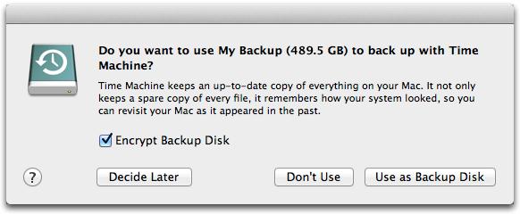 backup en mac