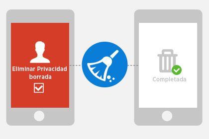 Limpiar datos privados