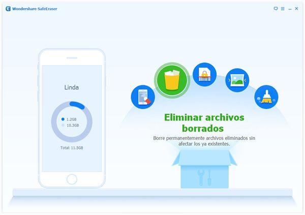 Borrar archivos eliminados en el iPhone