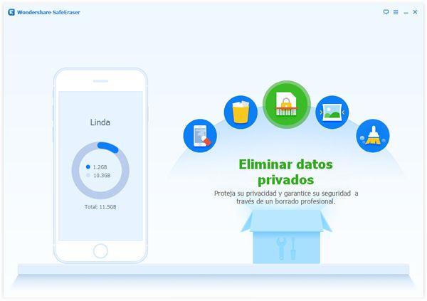 Borrar datos privados en el iPhone