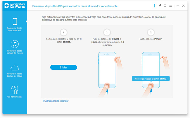 Copia de seguridad de los datos del iPhone antes de actualizar a iOS 7