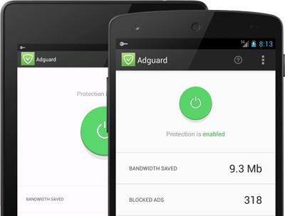 Adguard para Android