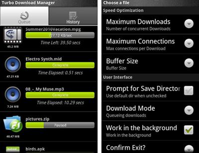 10 Aceleradores de Descarga para Android/iOS