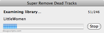 itunes script remove dead tracks