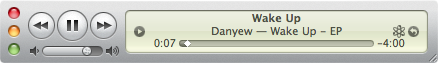 itunes shortcut mini player