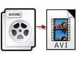 Convert AVCHD to AVI