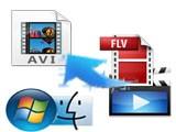 Conversor de archivos FLV a AVI: Cómo convertir archivos de formato FLV a AVI