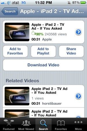 yourtube 2 iphone
