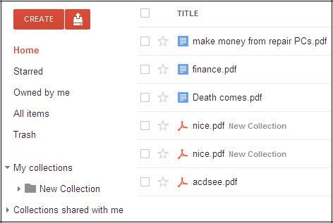 manage google docs