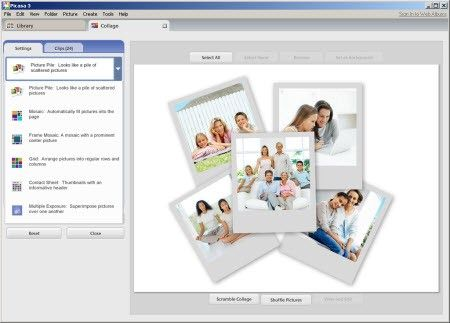 Photo Collage Freeware Picasa