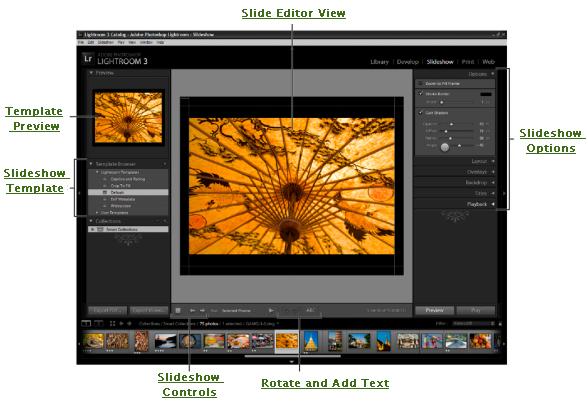 lightroom slideshow