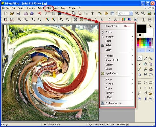 photo effect software