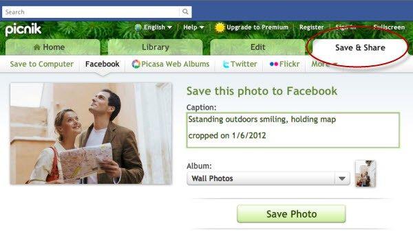 save facebook photo