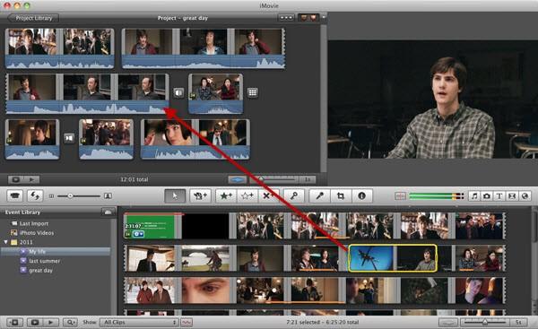 editando vídeos en imovie