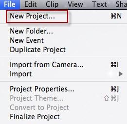 como usar iMovie para Mac