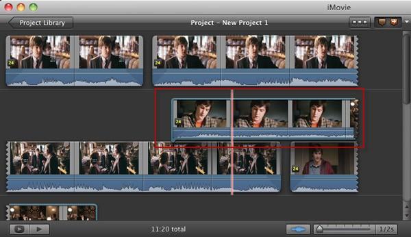 add iMovie background music