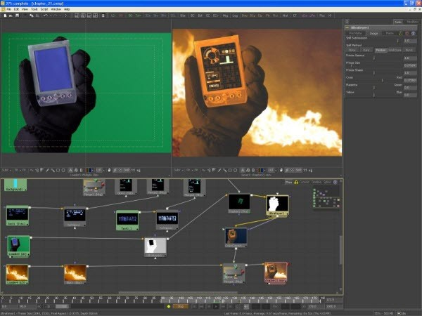 fusion, alternativa after effects