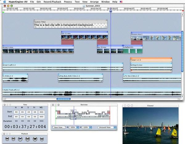 editor de videos para mac