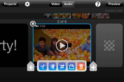 mejor editor de video gratuito para el iPhone