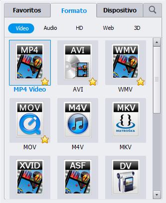 DVR-MS converter output format
