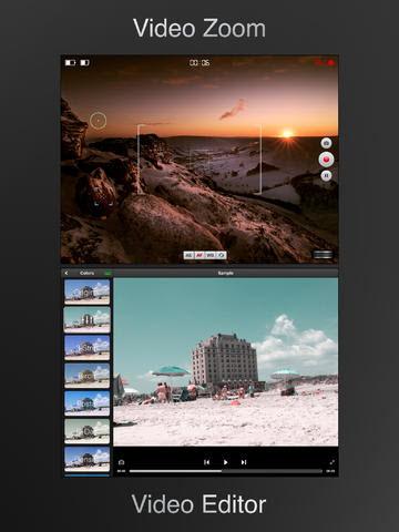editor de vídeo gratis para el ipad